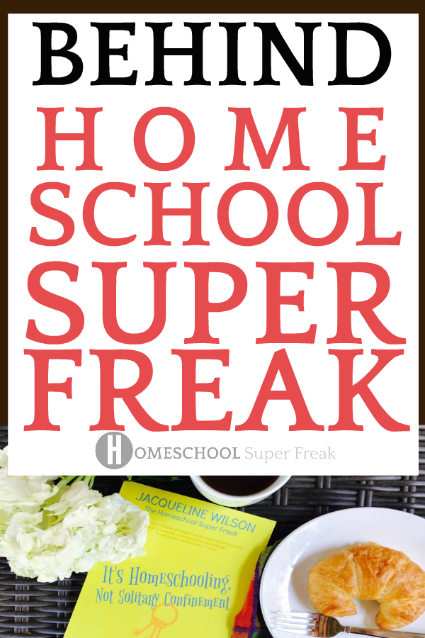 About Homeschool Super Freak: a home school resource website and Homeschooling Not Solitary Confinement is a Number 1 Bestselling Help With Homeschooling Book Written by an Educator and Homeschooling Mom Jacqueline Wilson #homeschool #homeschooling #homeschoolers #homeschoolhelp #homeschoolmoms #homeeducation #education #homeschoolbooks #homeschoolcurriculum #parentingtips #teaching