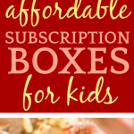 Best Affordable Subscription Boxes for Kids