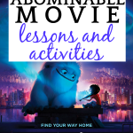 17 Abominable Movie Lessons and Activities for Kids