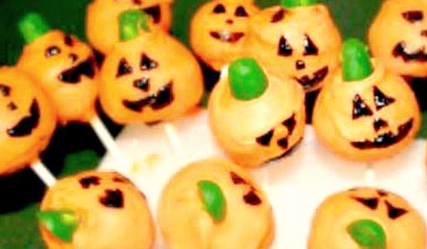 Make Pumpkin Cake Pops