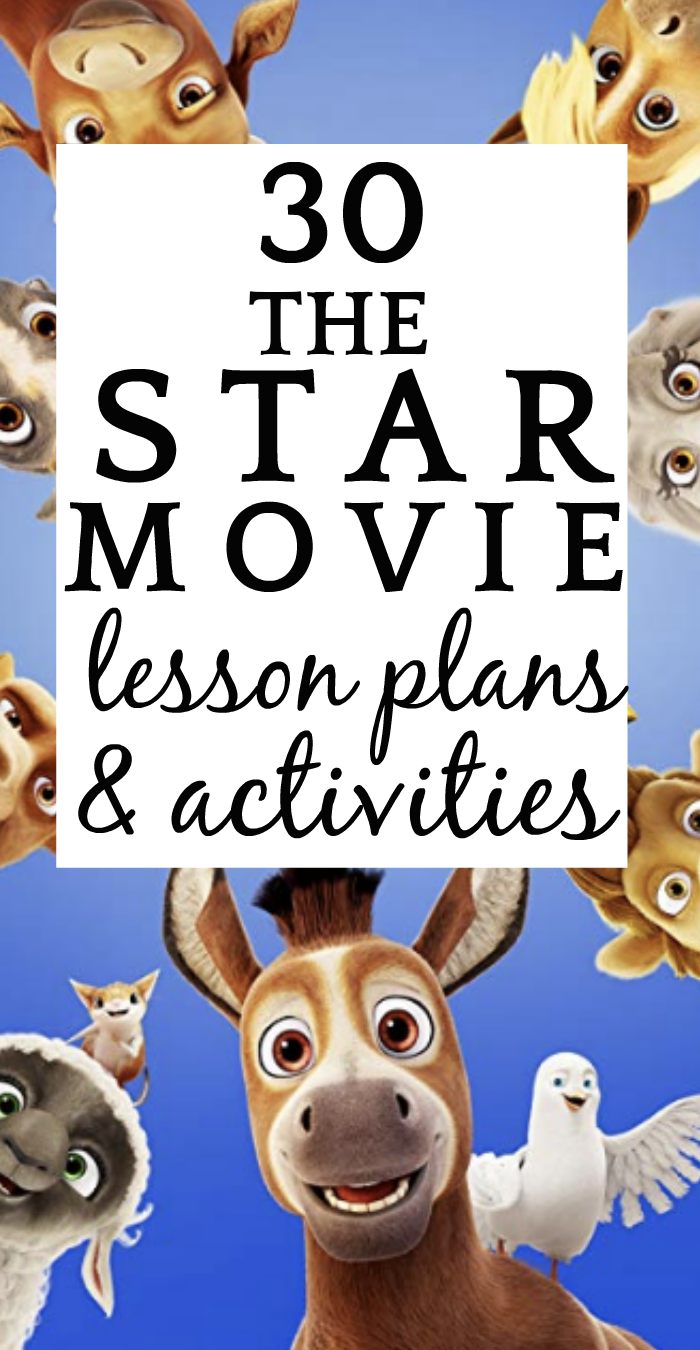 30 The Star Movie Lesson Plans and Activities