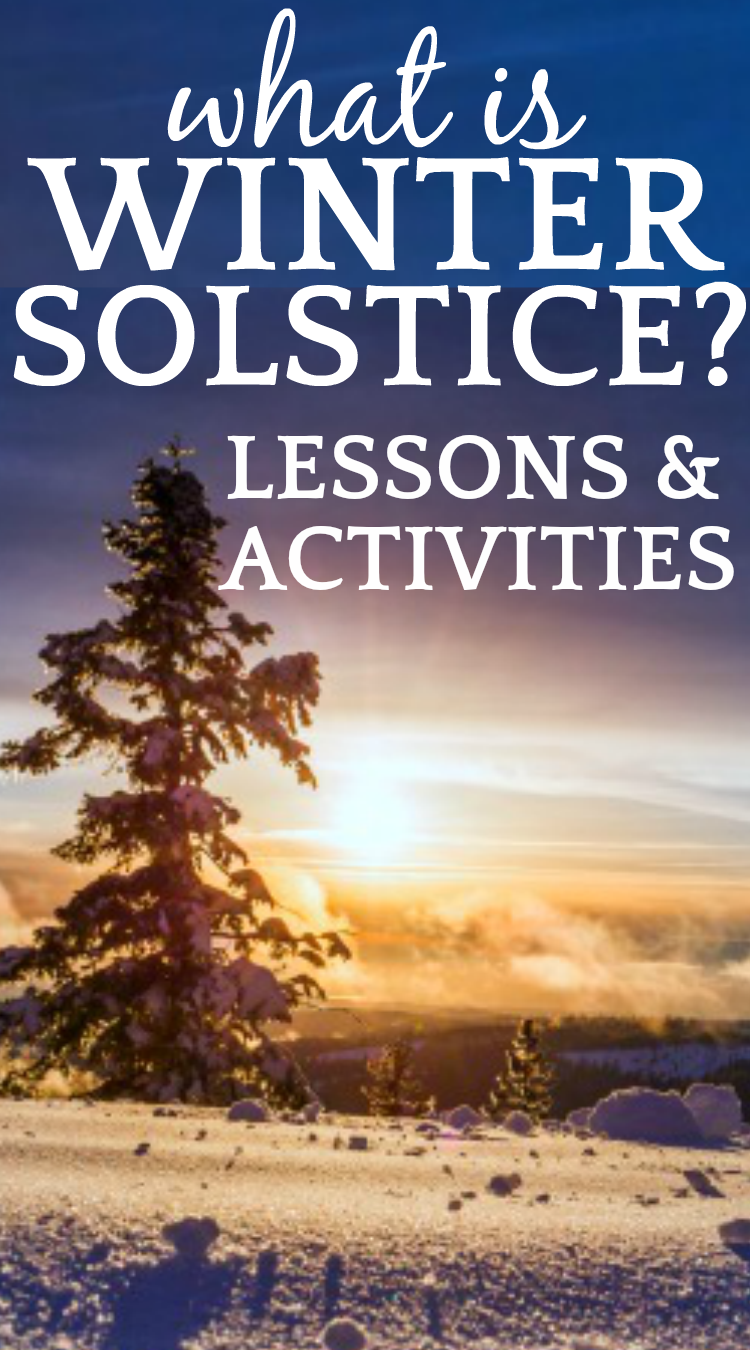 Evergreen tree on a snowy ground with the sun in the background What Is Winter Solstice? Science Behind Solstice and Lesson Plans, Traditions, Activities