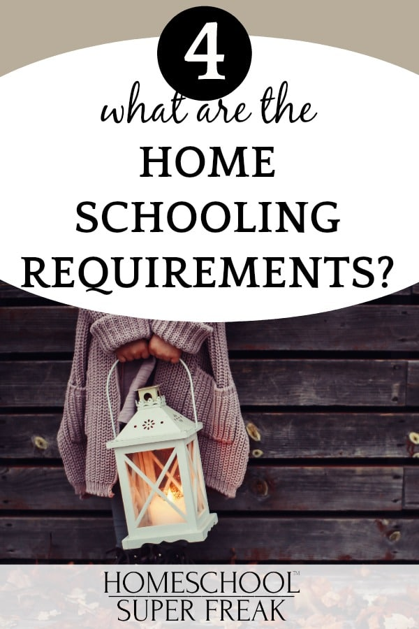What are the requirements to homeschool? hands of a woman holding a lantern