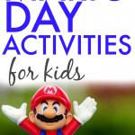 Mario Day Activities for Kids