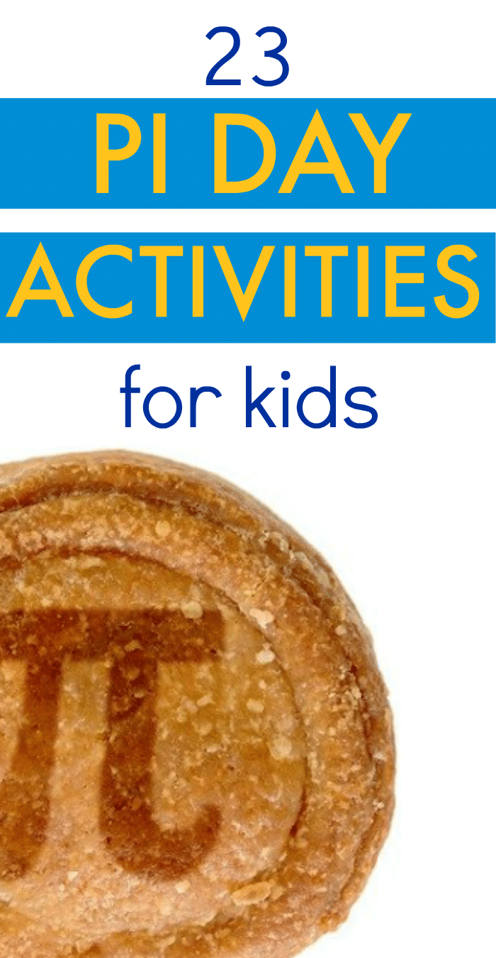 23 Fun Kids' Activities for Pi Day