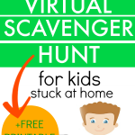 SCAVENGER HUNT IDEAS FOR KIDS