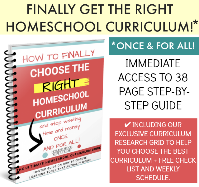 How to choose best homeschool curriculum book cover